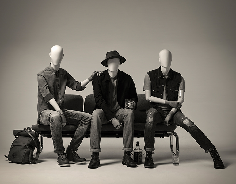 Hans Boodt Mannequins - Casual Abstract
