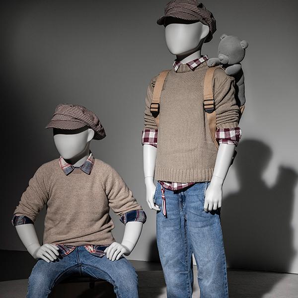 Hans Boodt Mannequins - Male Mannequins Kids Collection