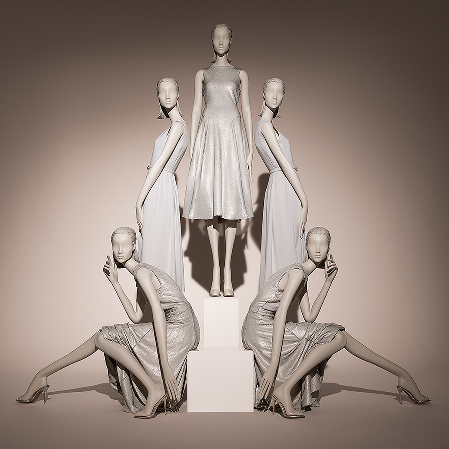 Hans Boodt Mannequins - Female Mannequins Muse Collection