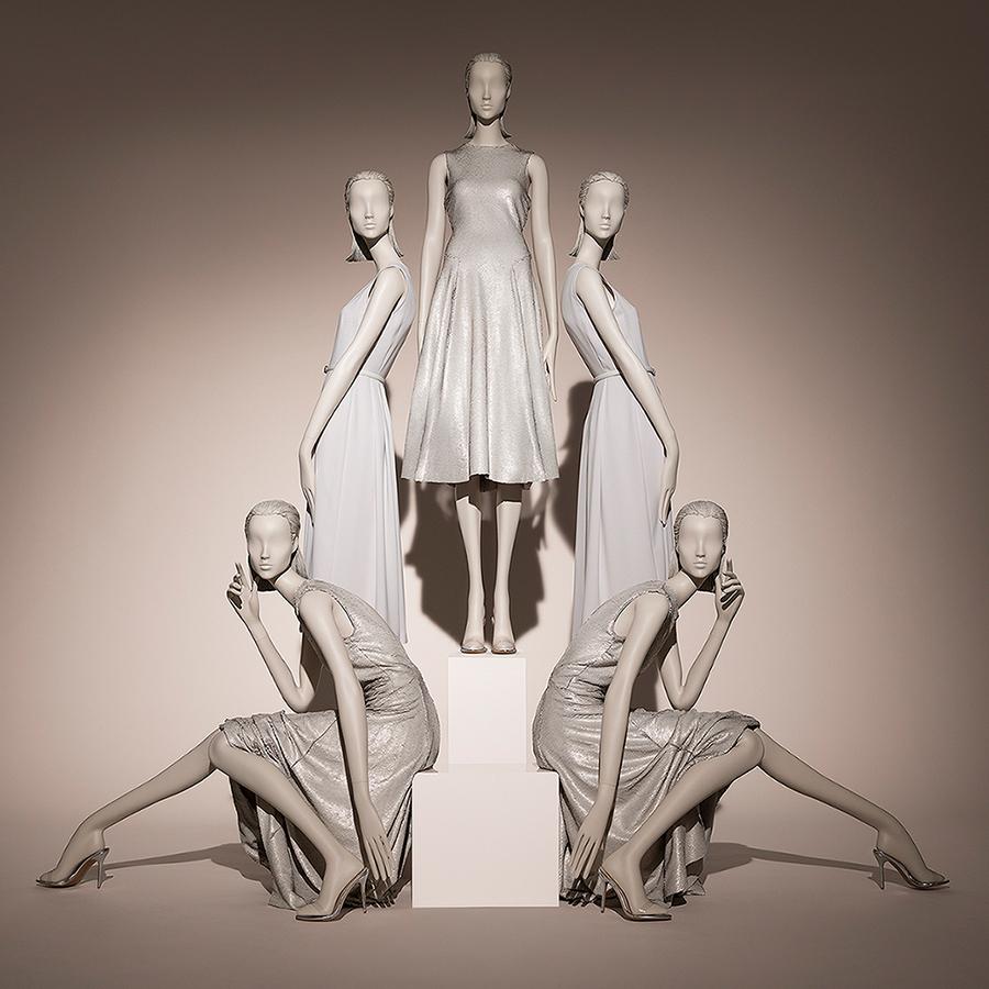 Hans Boodt Mannequins - Female Mannequins Muse Collection